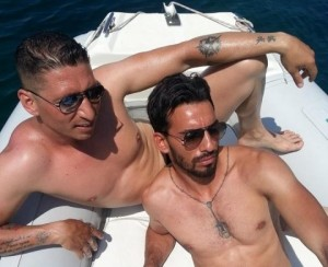 Domenico Palazzotto sur un Yatch