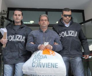 Arrestation de Matteo Alampi