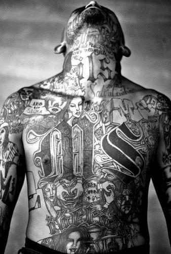 Harley Davidson San Francisco >> Tatouage mafia : MS13, Yakuza, Costa Nostra
