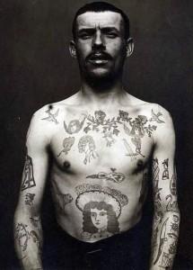 tatouage mafieux