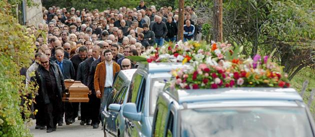 Obsèques parrain Corse