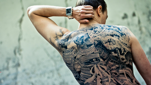 Tatouage 5 Mafias Au Style Radicalement Different