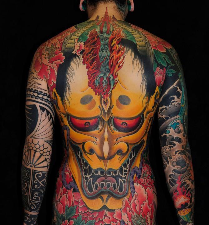 Tatouage Yakuzas