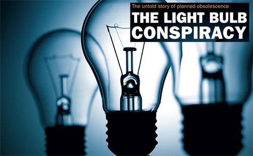 Groupe Phoebus et l'obsolescence des ampoules