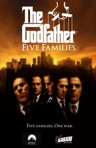 jaquette the godfather five families