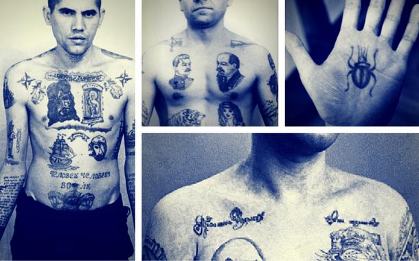 Signification des tatouages de prisonniers russes d cryptez les codes - Signification tatouage etoile ...
